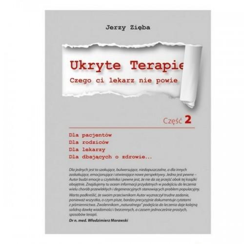 """Książka """"Ukryte Terapie część 2"""" Jerzy Zięba"""