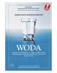 Książka Woda Odwodnienie przyczyną chorób