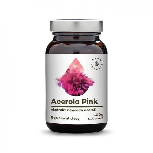 Acerola pink w proszku 100g Aura Herbals