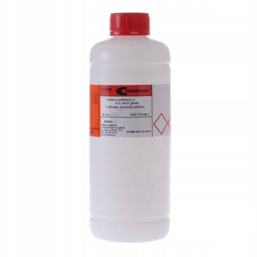 Nadtlenek wodoru 3% Woda utleniona CZDA 1L Chempur